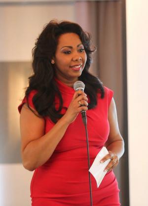 Monique als spreker